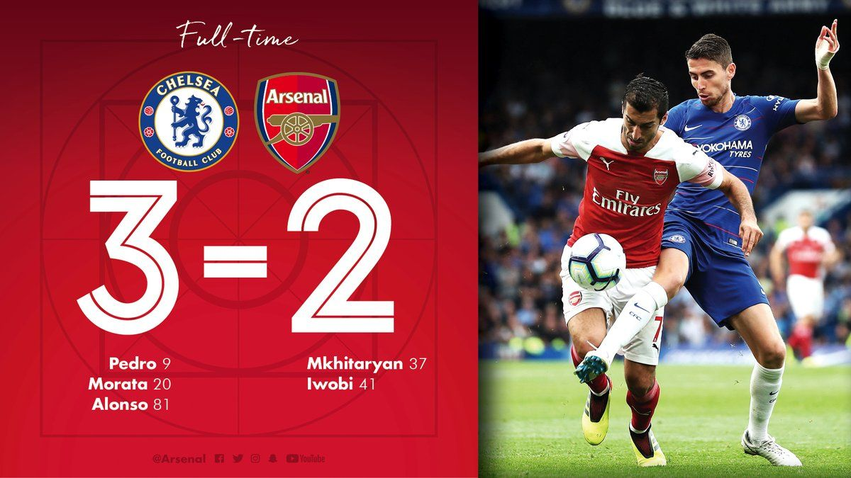 Download Chelsea Vs Arsenal Highlights 3 2 Epl Wk 2