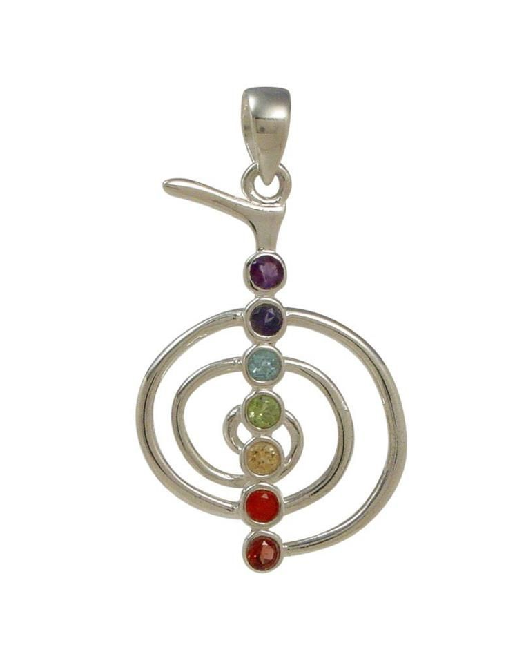 Chakra gemstone pendant reiki symbols reiki chakra