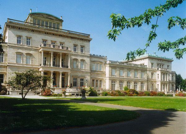 Villa Hugel in Essen, Germany (Krupp House) Duitsland, Villa