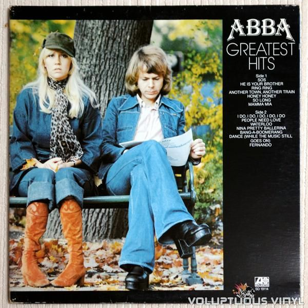 Abba Greatest Hits 1976 With Images Music Album Covers