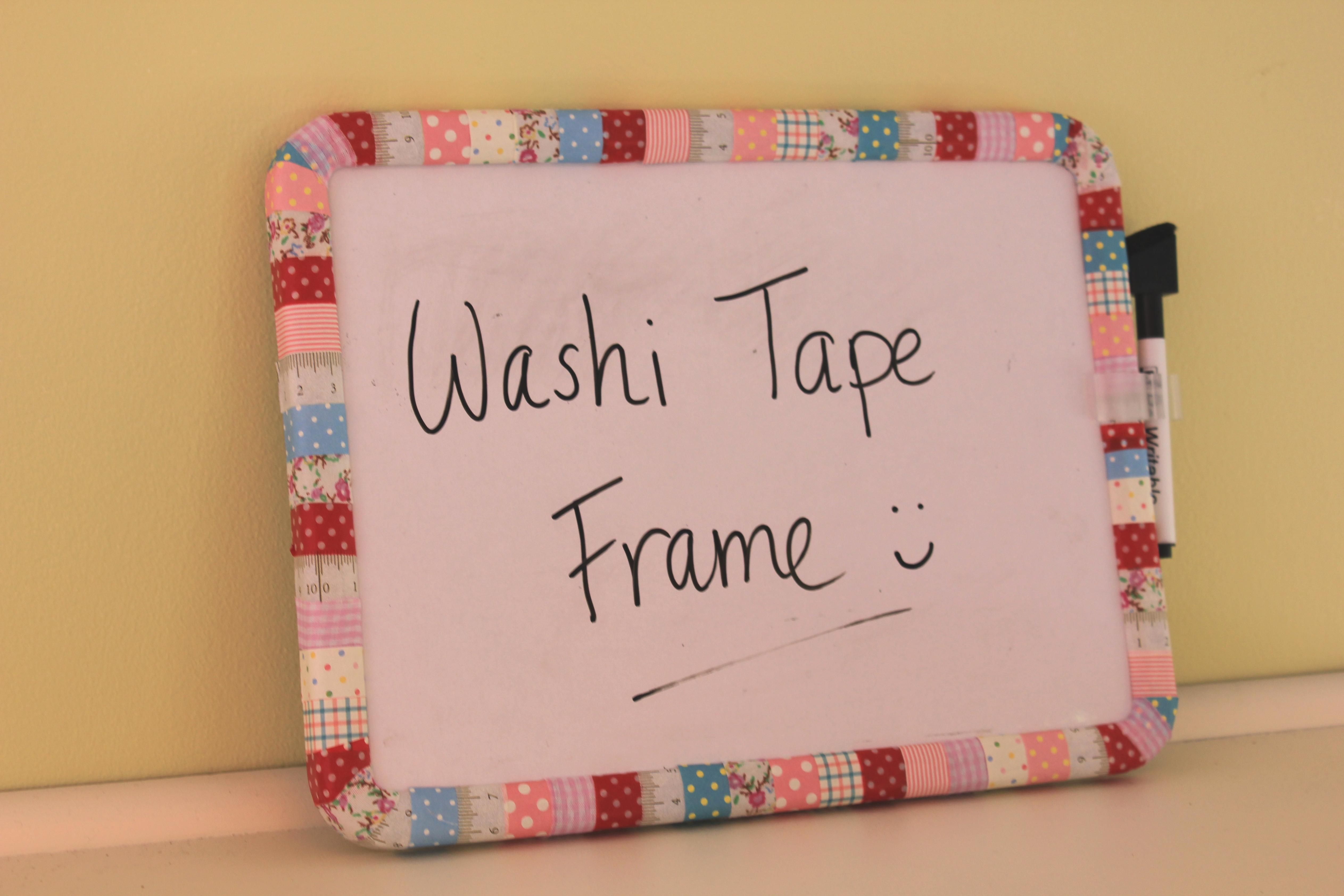 Diy Craft Project ~ Making A Funky Patchwork Frame -