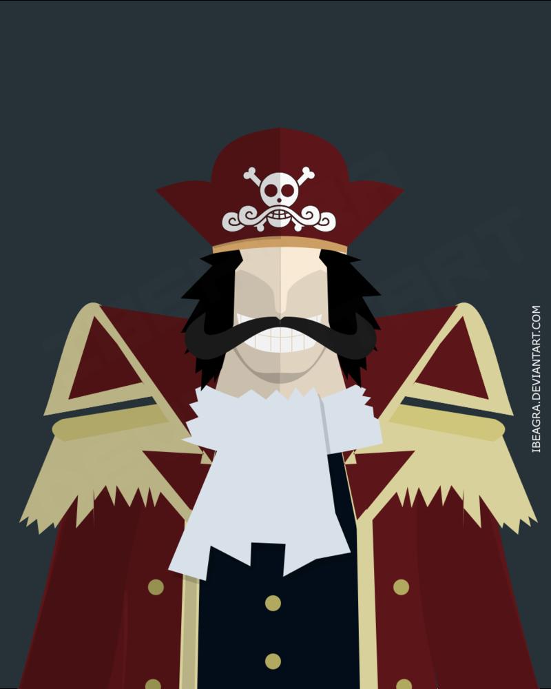 One Piece : Gol D. Roger by ibeagra.deviantart.com on @DeviantArt ...