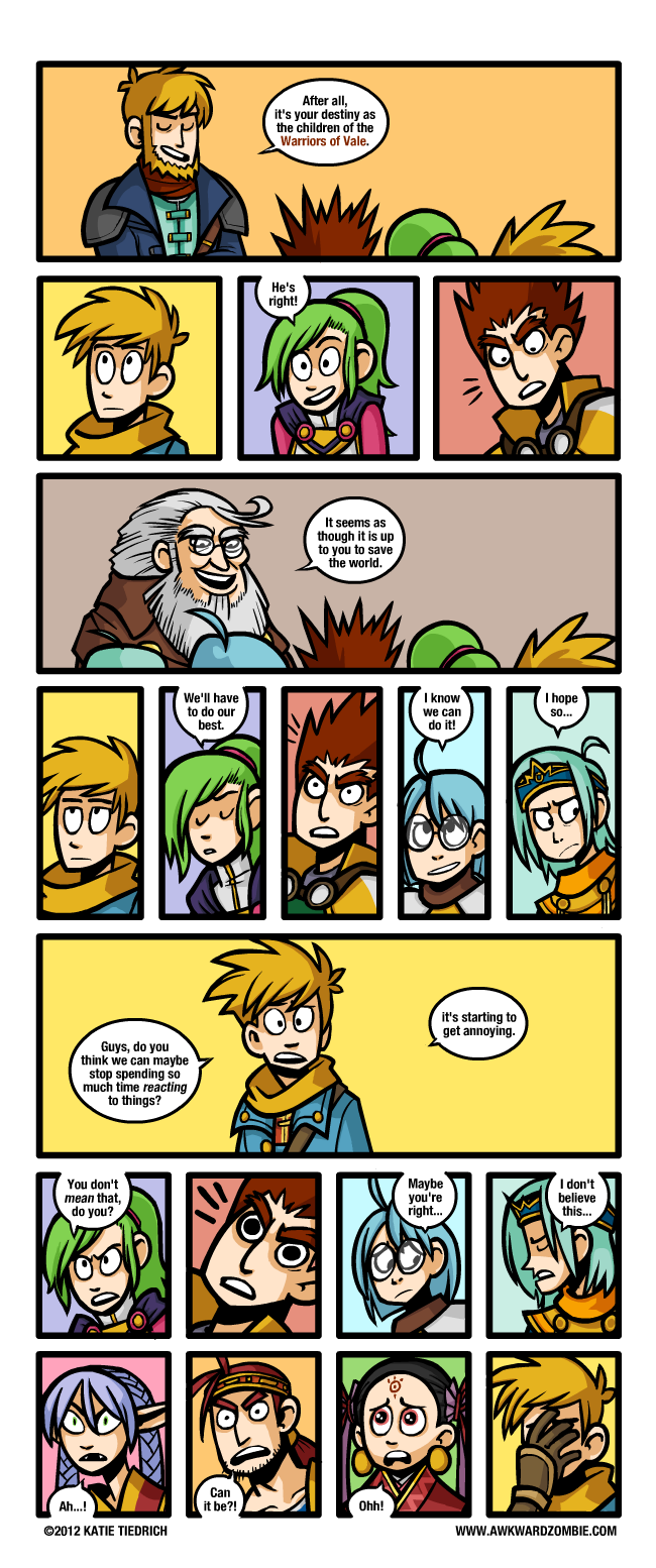 AWKWARD ZOMBIE - Express (Golden Sun: Dark Dawn)