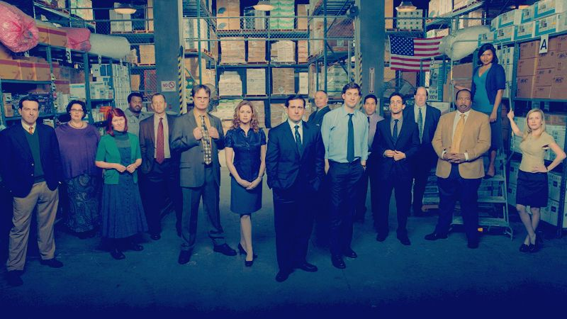 The Office TV Series Comedy Cast Steve Carell Poster Art Fabric Decor 103