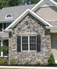 Image Result For Pennsylvania Heritage Stone With Nantucket Pewter Siding Stone Exterior Houses Stone Siding Exterior Stone Front House