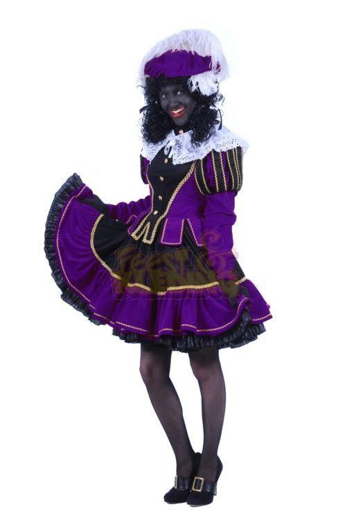 Zwarte pieten jurkje baby