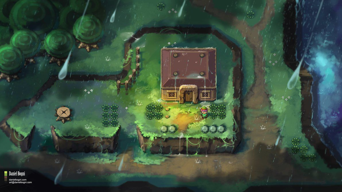 The Legend of Zelda - A Link to the Past - Fanart by