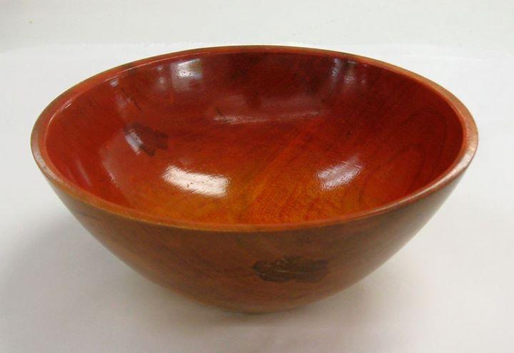 Bill housley colored wood bowl wood bowls