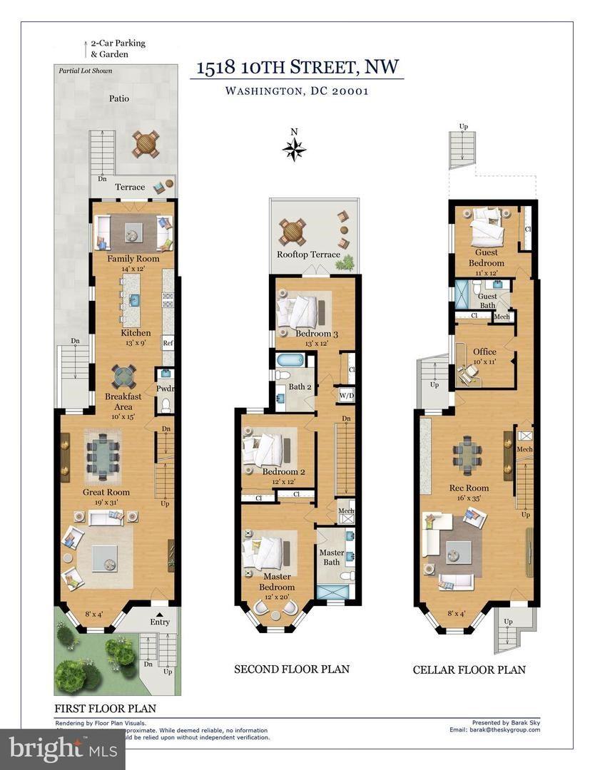 1518 10th Street Nw Washington Dc 20001 Mls Dcdc444244 Listing Information Homes For Sale And Rent Planta Baixa Plantas