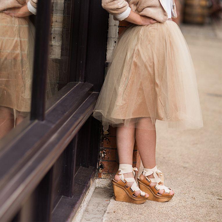 skirt free pattern - Tüllrock in Beige (13/3) | Sewing Woman Skirts ...