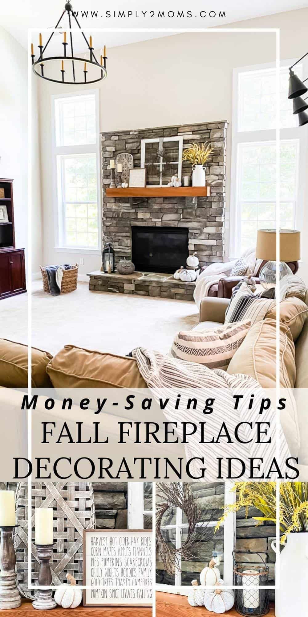 Wait Until You See These Fall Fireplace Decor Ideas Simply2moms Fall Fireplace Fall Fireplace Decor Fireplace Decor