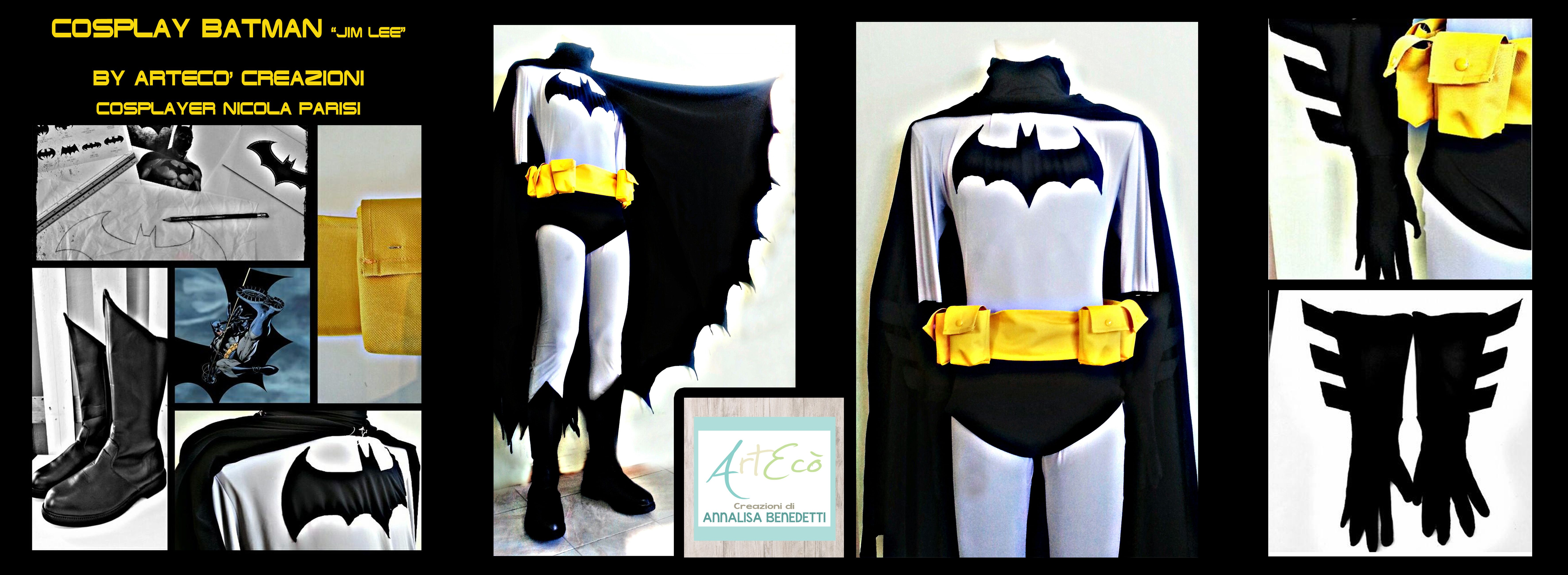 Cosplay BATMAN (Jim Lee)   Style & Handmade by ArtEcò Creazioni di Annalisa Benedetti  #artecòcreazioni #annalisabenedetti #cosplay #cosplayer #batman #jimlee