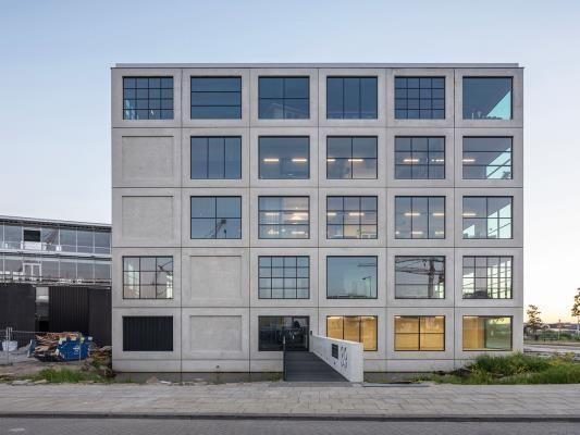 MVRDV completes office building in Amsterdam with flexible working spaces