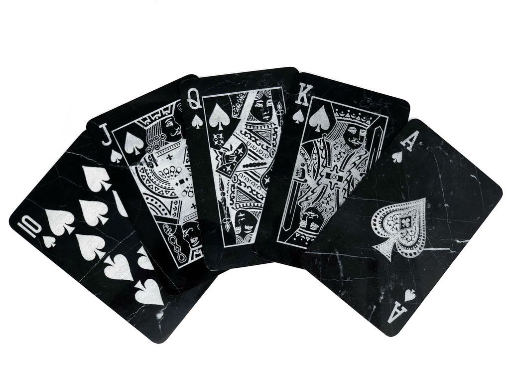 Mikol Marble Playing Cards Set 775 The World S First Deck Of