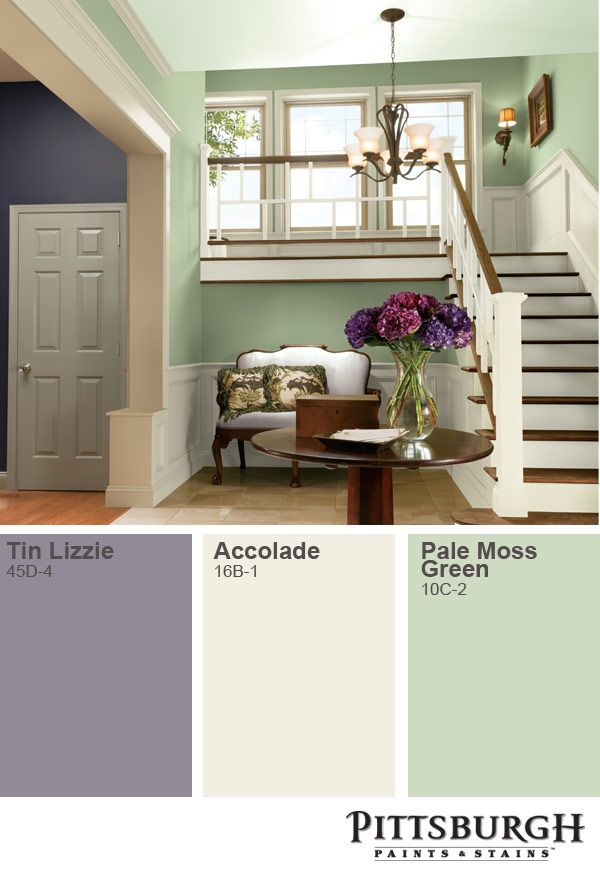 Complement A Pastel Palette With Pops Of Color From Flowers Or Decor Paint Colors For Home Pittsburgh Paint Green Wall Color