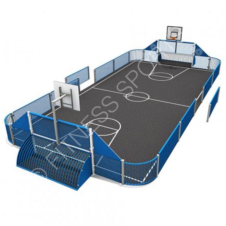Omg 610 Outdoor Mini Sports Multi Use Games Muga Arena