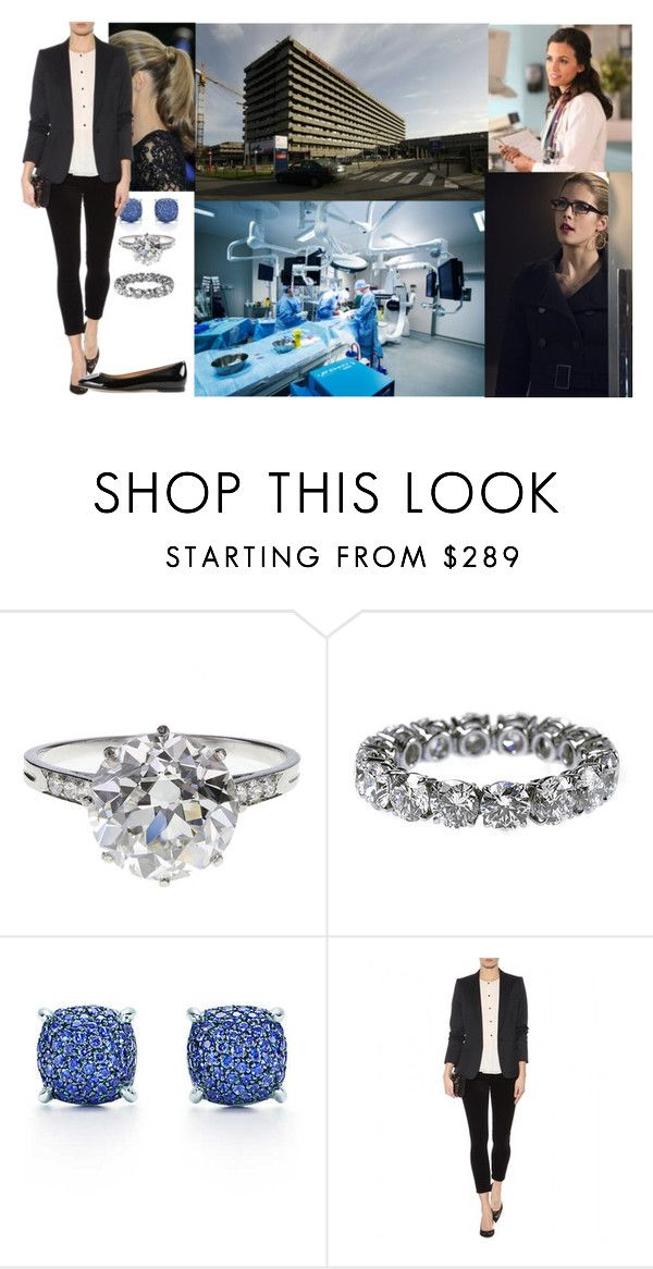 """""""Visiting Saint-Luc University Hospital and observing a surgery with her lady-in-waiting"""" by hanaofbelgium ❤ liked on Polyvore featuring Boucheron, Tiffany & Co. and Bally"""