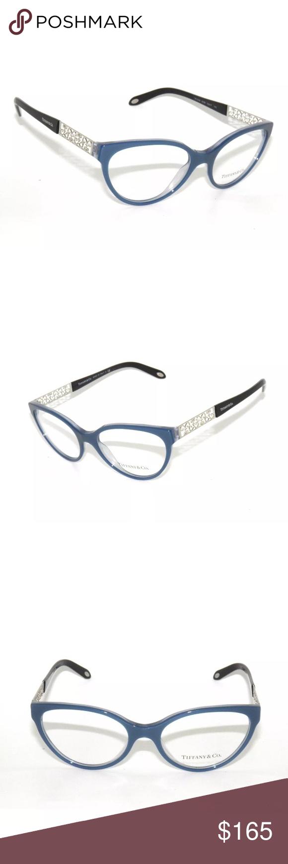 6e93e4e8c931 Tiffany Eyeglasses Pearl blue 2129 In excellent condition Comes with Tiffany  case Authentic. Tiffany   Co. Accessories Glasses