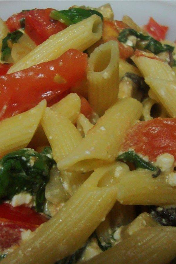 Suki's Spinach and Feta Pasta images