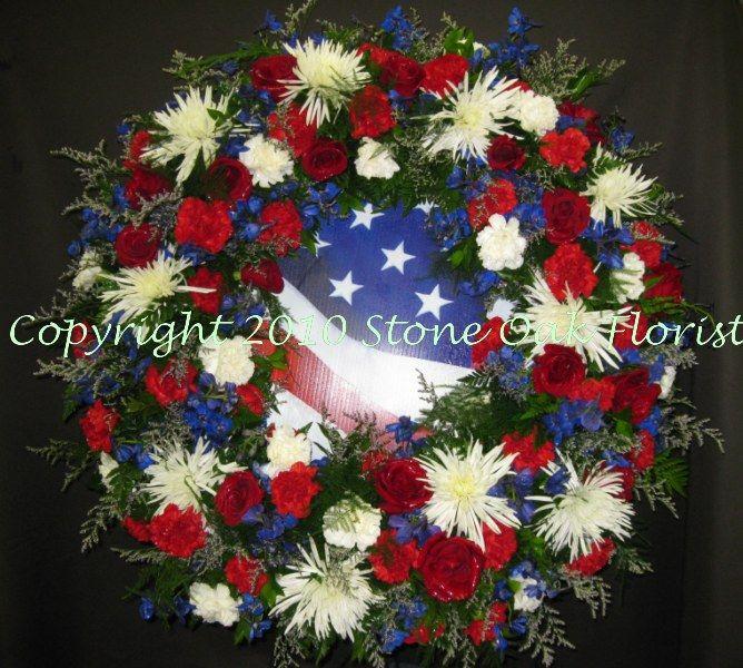 rose wreath patriotic rose wreath fourth of july wreath memorial day wreath military wreath double door wreath flag wreath