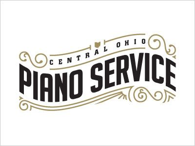 Piano Service Logo Design Simple Line Art Used in Logo Design | 25 Beautiful Examples