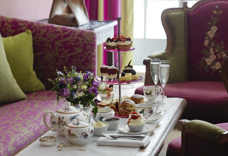 Firmdale Hotels Afternoon Tea Kit Kemp Soho Hotel Afternoon