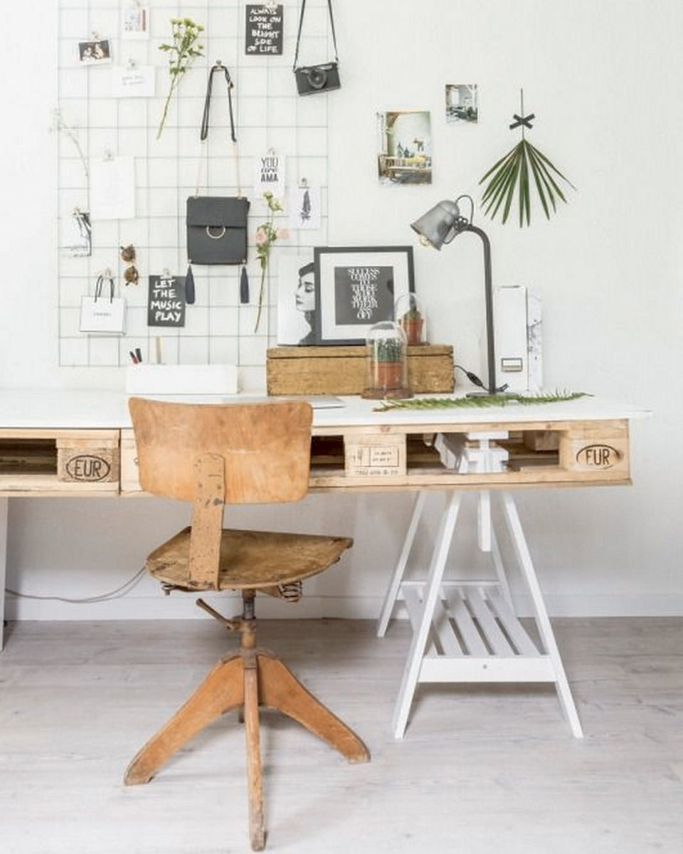Comment Faire Un Bureau Soi Meme 15 Idées Diy Pour Le Bureau Home Office Design Home Office