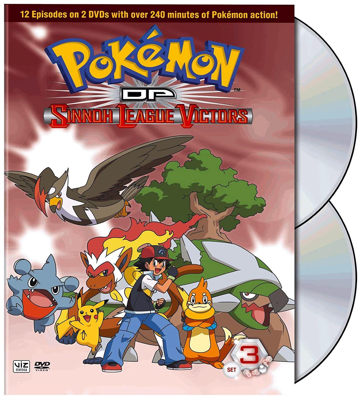 Pokemon Season 13 - Sinnoh League Victors - Set 3 | Pokemon, Pokémon  diamond, Anime covers