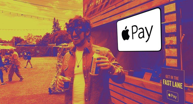 Apple Pay tests 'order ahead' for drinks at music