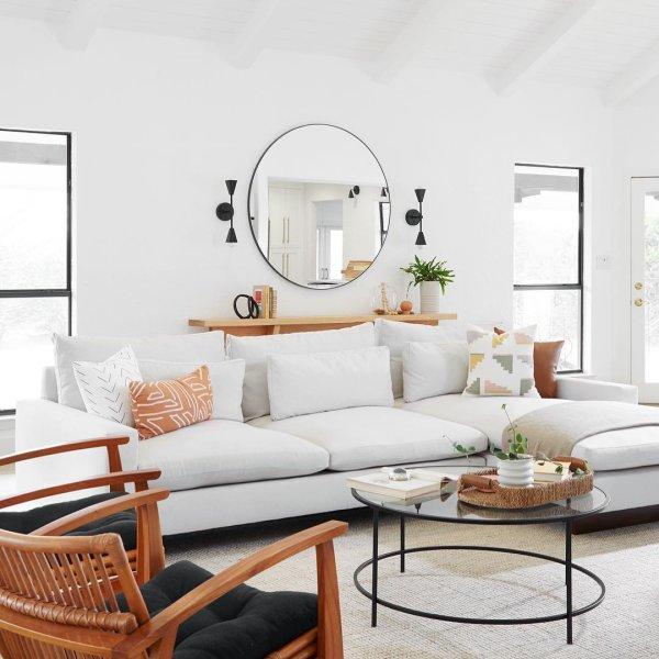 Harmony Sleeper Sectional W Storage West Elm Living Room Living Room Inspiration Boho Living Room #west #elm #living #room #ideas