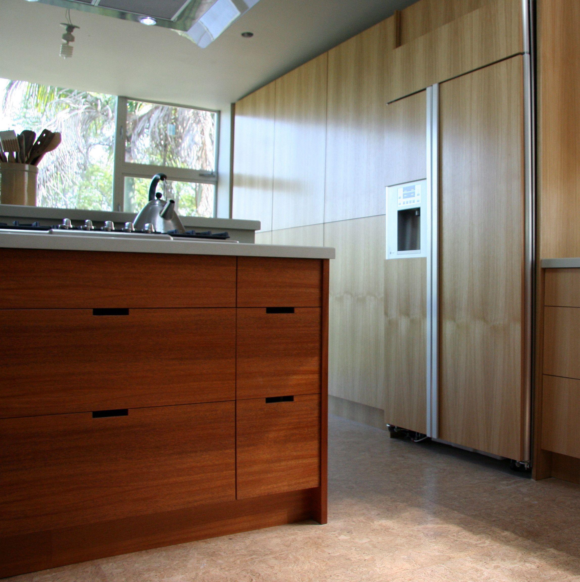 Semihandmade Mahogany/Oak IKEA kitchen. Kitchen