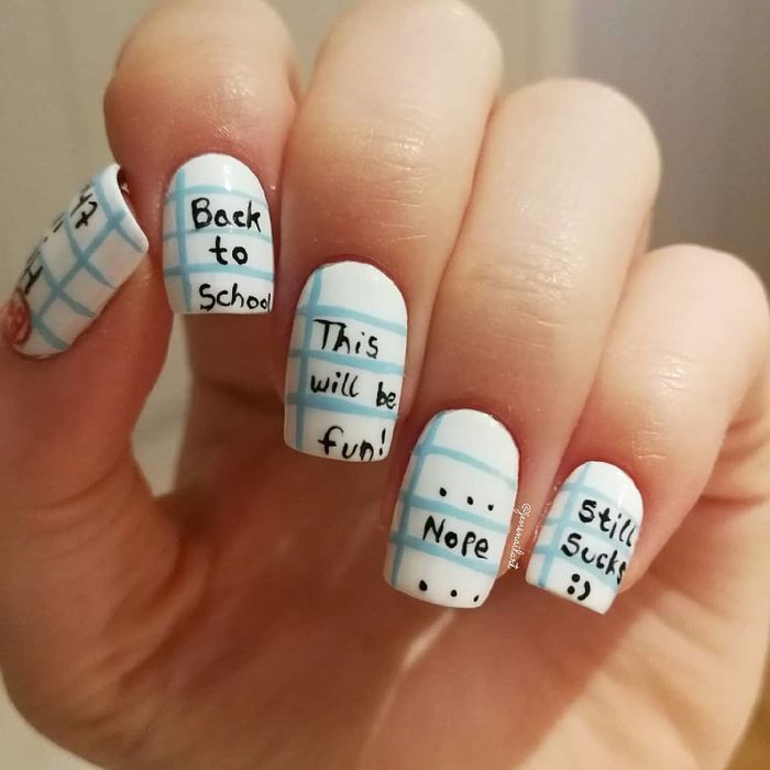 Cute Back To School Manicure Ideas Creative And New Designs For