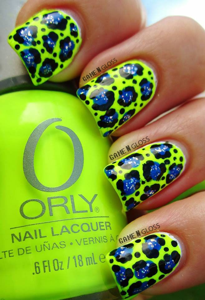 #neon #leopardprint #wow FB @ GAME N GLOSS