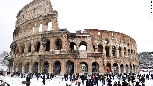 Situation Tragic As Winter Weather Blankets Europe Europe Winter Europe Rome