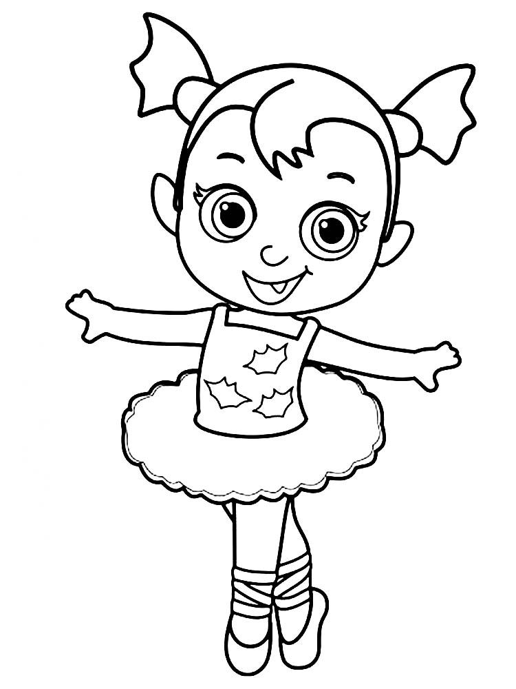 Ballerina Coloring Page Free (With images) | Ballerina ...