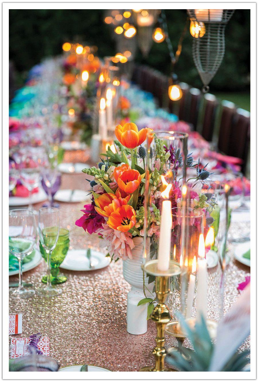 colorful parker palm springs wedding weddings