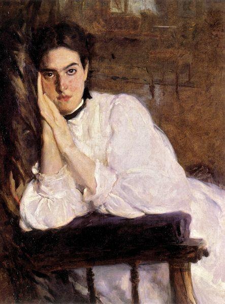 Ceilia Beaux The Dreamer 1894 American 1855 1942 Ets