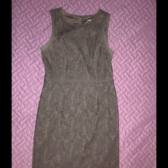 Gorgeous black lace Ann Taylor sheath dress sz 6 Beautiful dress. Great details. Excellent condition! Ann Taylor Dresses