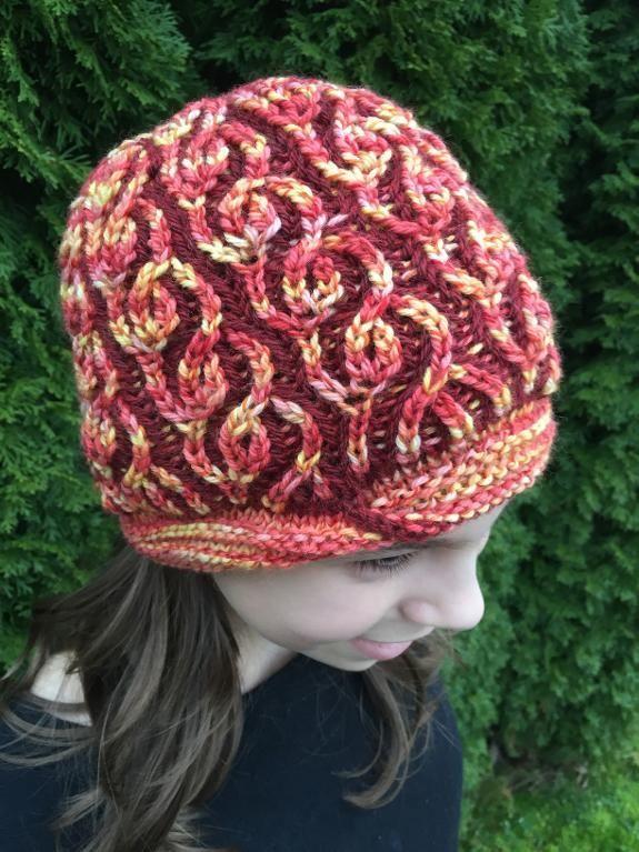Vakker Brioche Hat | Mütze, Hauben und Stricken und häkeln