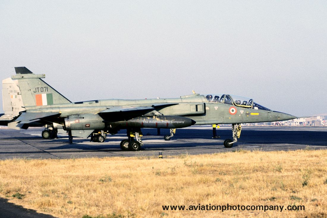 Indian Air Force 6 Squadron Sepecat Jaguar IT JT071 (2006