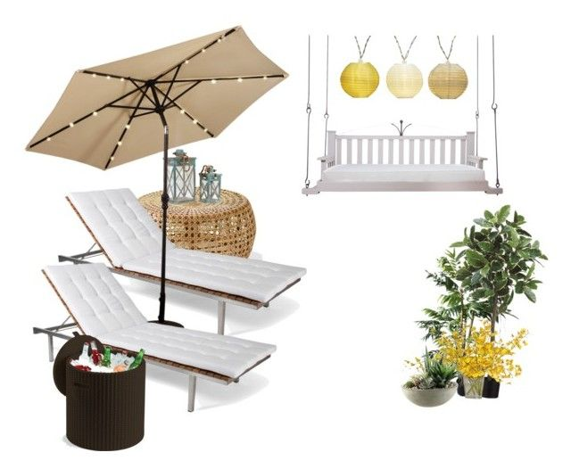 """""""😍I want this in my yard!!!!"""" by ulstadts ❤ liked on Polyvore featuring interior, interiors, interior design, home, home decor, interior decorating, Skargaarden, The French Bee, Home Decorators Collection and Lowcountry Originals"""