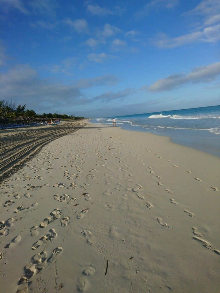 Lovely stretch of beach in VARADERO in Cuba