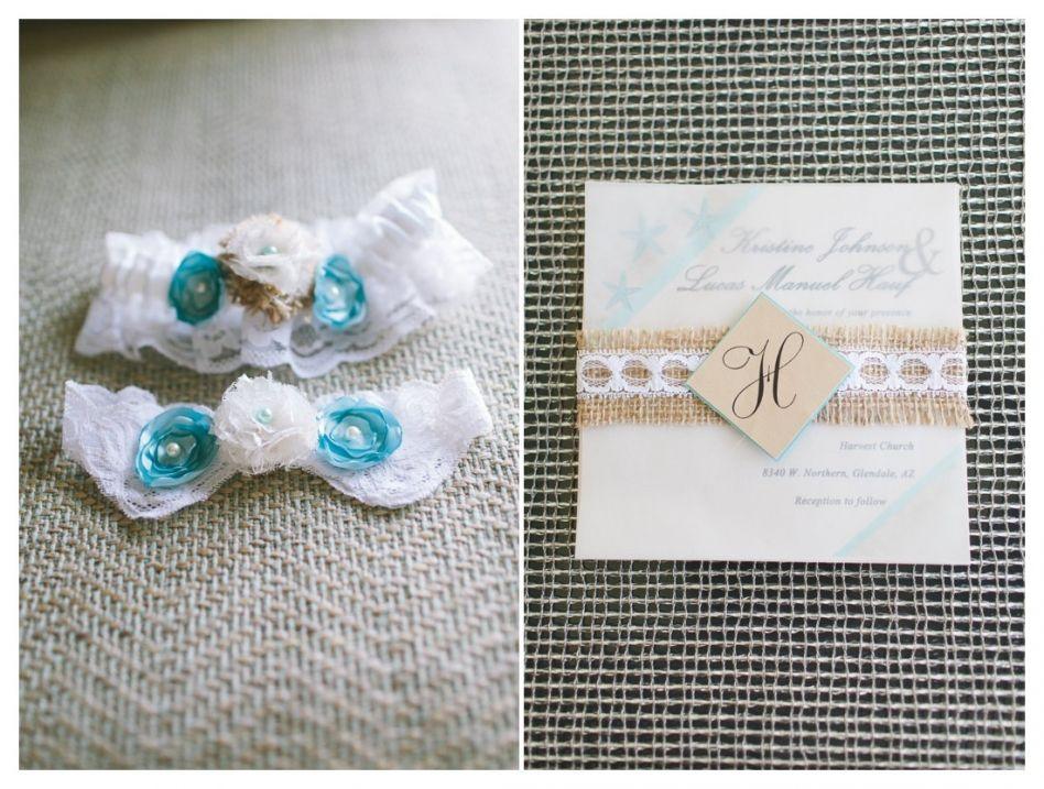 burlap and lace wedding invitation - burlap and lace garter - Scottsdale Wedding Photographer   Rachel Solomon Photography