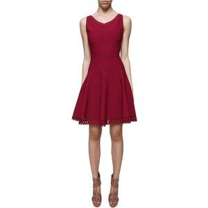AZZEDINE ALAÏA Sleeveless flare dress