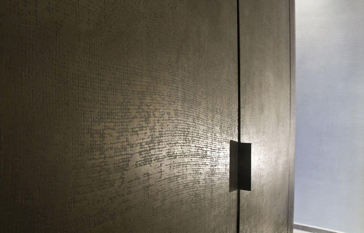 enduit d coratif naturel de pl tre d 39 int rieur sans cov pierre tram e signature murale. Black Bedroom Furniture Sets. Home Design Ideas