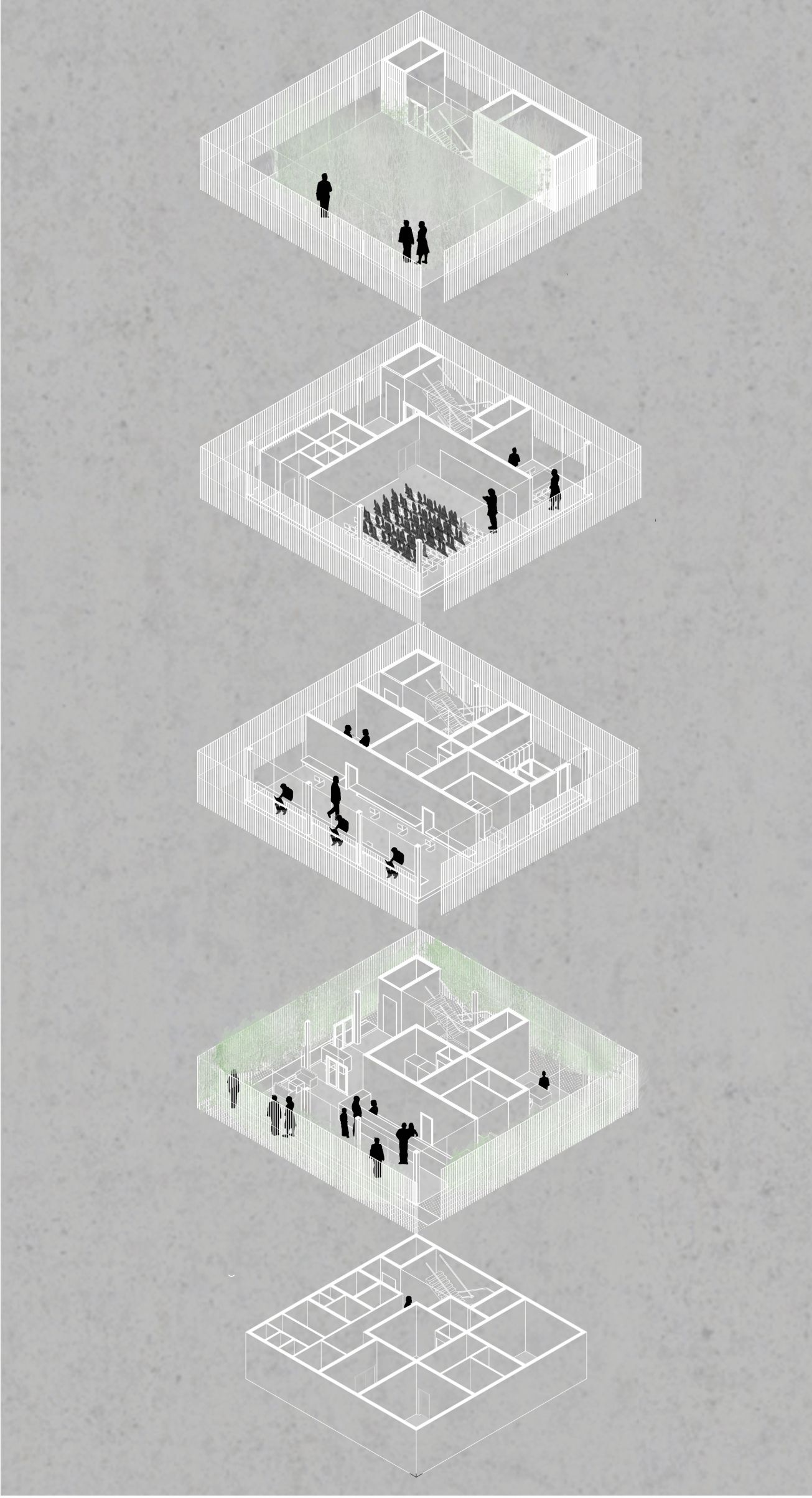 Cure In The Cube Con Imagenes Diagramas De Arquitectura