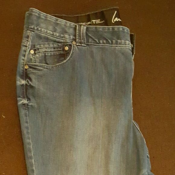 T3 Blue Jeans These jeans are perfect for everyday wear. They have been worn a handful of times but are in great shape. Lane Bryant Jeans Straight Leg