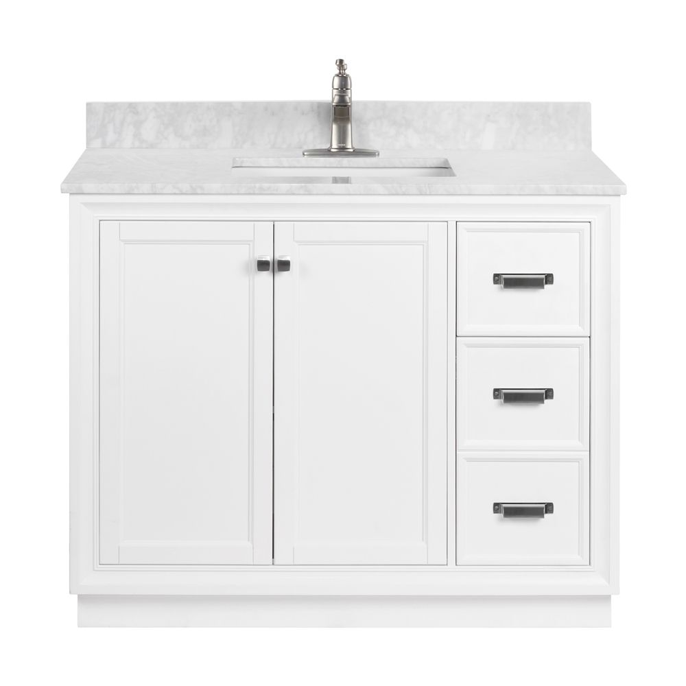 foremost everton 42 in vanity combo lowe s canada on lowes vanity id=16794