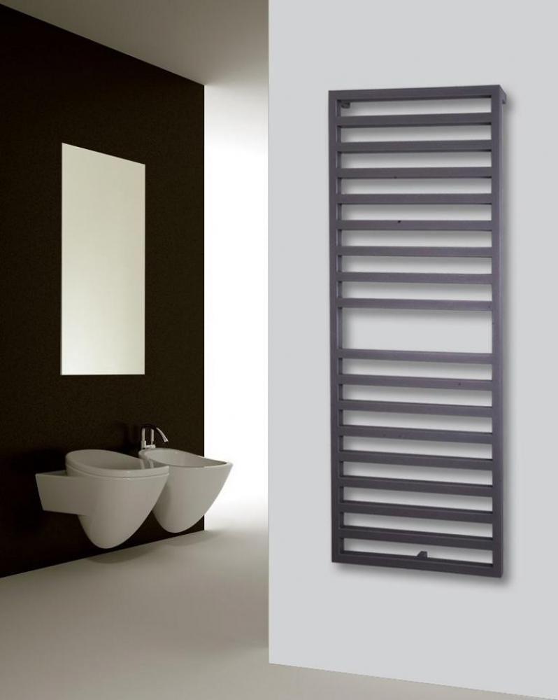 Badheizkorper Design Square 2 147x60cm 810 W Silber Anthrazit