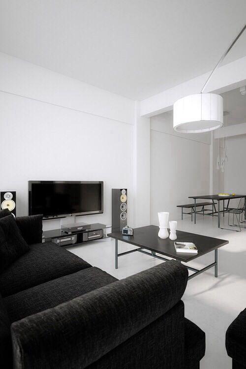 Simple Black Living Room Living Room White White Living Room Decor Black And White Living Room Decor #small #black #living #room